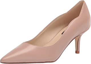 Nine West Women's Abaline Pump, Natural Leather, 6.5
