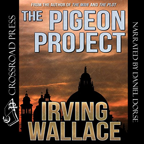 The Pigeon Project audiobook cover art