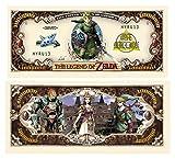 American Art Classics Pack of 50 - Legend of Zelda Limited Edition Collectible Novelty Million Dollar Bill - Best Gift for Zelda Fans Link, Twilight Princess
