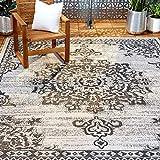 Home Dynamix Nicole Miller Patio Country Azalea Indoor/Outdoor Area Rug...