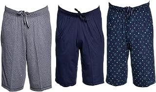 VIMAL JONNEY Multicolor Cotton Blended Capris for Men(Pack of 3)-D13-AN_NV_PRTN_03-P