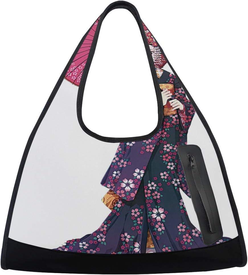 Japanese Kimono Girl Women Sports Bag N Gym Multi-Function San Jose Mall Ranking TOP12 Totes