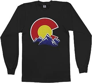 Men's Colorado Mountain Long Sleeve T-Shirt