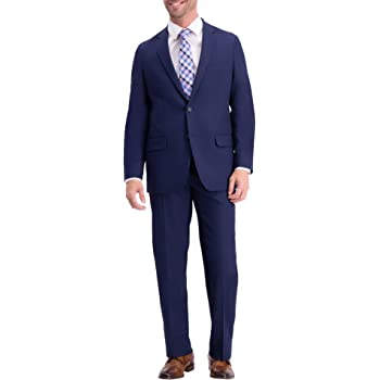 Haggar Mens Active Series Stretch Classic Fit Suit Separate Coat Business Suit Jacket