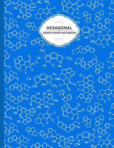 Hexagonal Graph Paper Notebook: Chemistry Lab Notebook, Apologia Chemistry Student Hexagonal Notebook