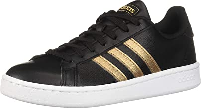 adidas Women's Grand Court Base Suede Tennis Shoes