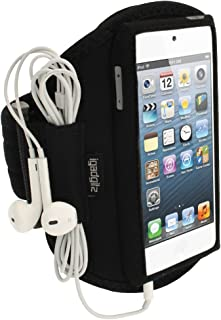 iGadgitz U1993 Neoprene Sports Armband Compatible with Apple iPod Touch 5th 6th 7th Gen -Black