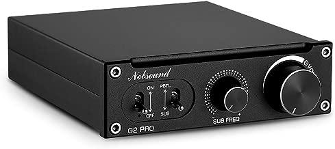 Nobsound G2 Pro Subwoofer Amplifier & Mono Power Amp, PBTL/BTL Bridge, 300W Mini Sub Amp for Home Theater