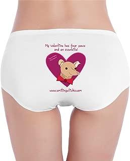 Tuna Melts My Heart The Dog Womens Low-Waist Sheer Panties Underwear Bathing rnBriefs