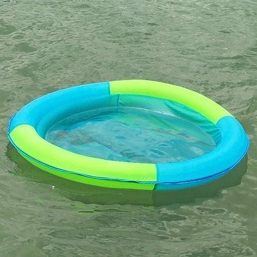 Jjek Flottant géant Flottant dans la Piscine, Vacances à la Plage Autour de l'eau Se Pliant Jouet, Chaise Longue de Radeau en été for Adultes et Enfants