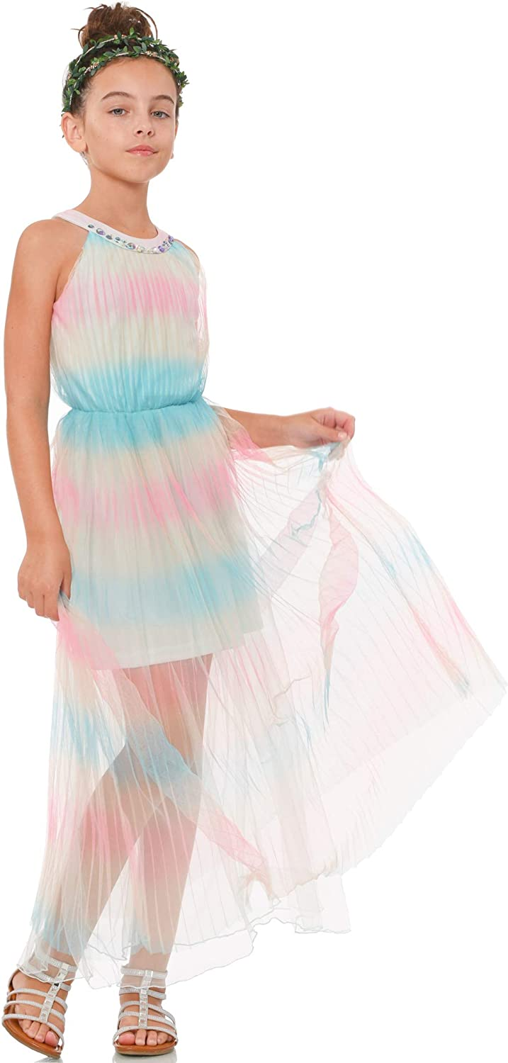 Truly Me Big NEW before selling ☆ and Bargain sale Little Girls' with Skater One-of-A Dress Scuba
