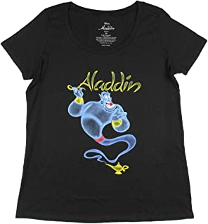 Seven Times Six Disney Aladdin Women's Genie Out of The Lamp Plus Size T-Shirt