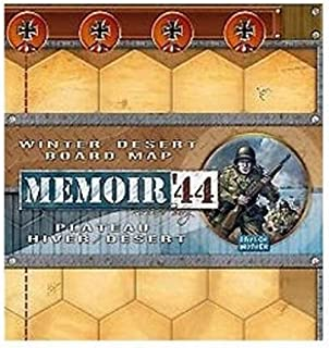Memoir '44 - Winter, Desert Board Map