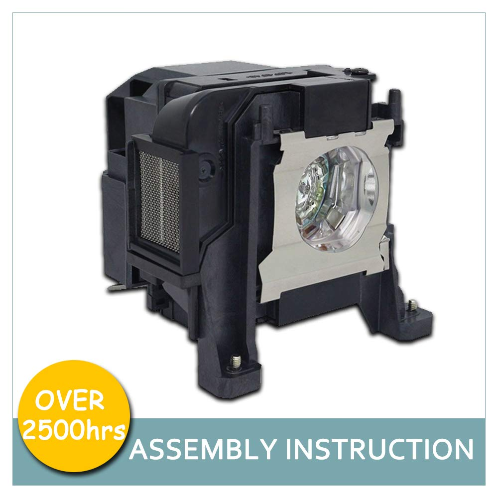 LOUTOC Replacement V13h010l89 Elplp89 Projector