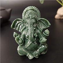 Ganesha Buddha Statue Indian Elephant God Sculptures Figurines Ornaments Home Garden Decoration Buddha Statues