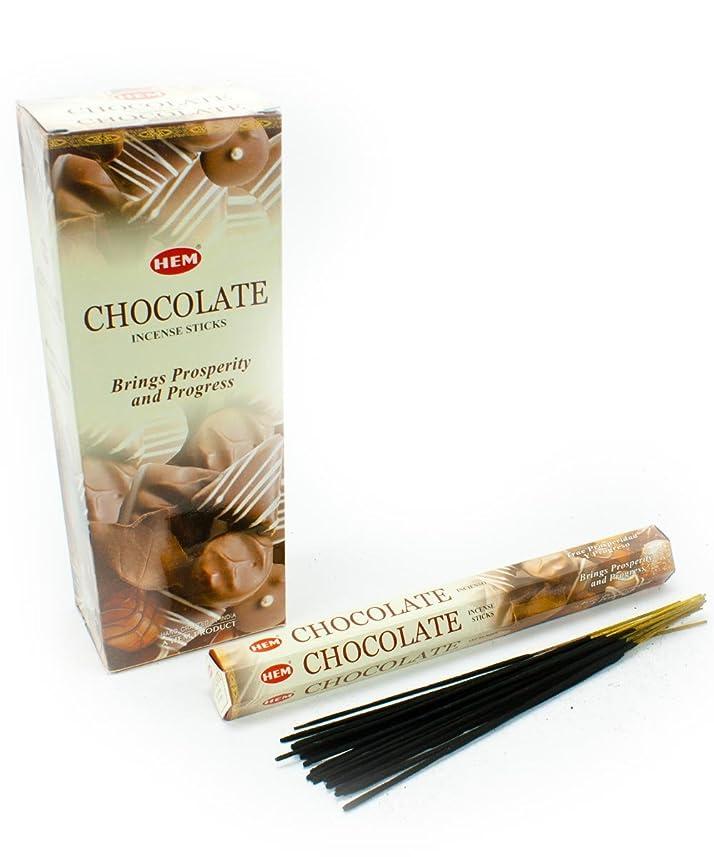 メイト大脳理容師HEM(ヘム)社 チョコレート香 スティック CHOCOLATE 6箱セット