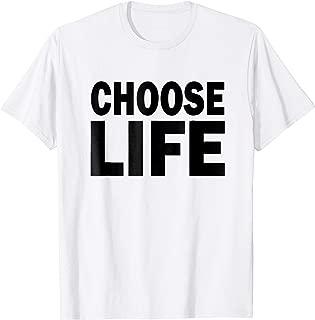 Choose Life Pro Life March T-Shirt