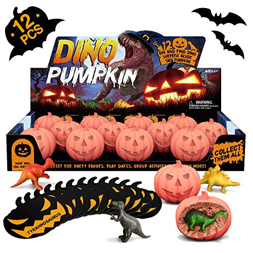 Halloween Dinosaurier Kürbis Ausgrabungssets Toy Ausgraben Dino Ei Kürbis Spielzeug Party Dinosaur Figuren Kürbisse Halloween Requisiten Dekoration Ausgrabungsset Archäologie