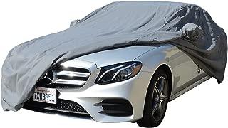 1990~2018 Mercedes S Class Sedan CAR COVER 300SE 300SEL 300SD 350SD 350SDL 420SEL 560SEL S320 S420 S500 S550 S600 S63 S65 (Space Gray)