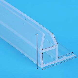 Color : F10mm x 2Meters 2 metros H Forma Forma de goma de silicona Ducha de ducha Puerta de vidrio Sello de vidrio Tira de burlete para 6//8//10//12 mm de vidrio Mantener caliente lote ampliado F
