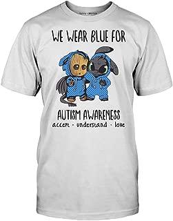 baby groot autism shirt