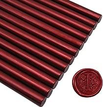 Sealing Wax Rod Blood Red for Standard Size Glue Gun - 5.4