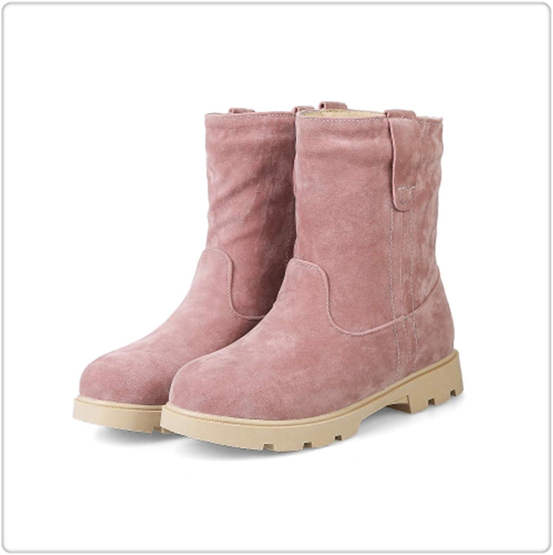KKEPO& Cute Cat Warm Boots Women Family Christmas Cotton Winter shoes Women Boot Pink
