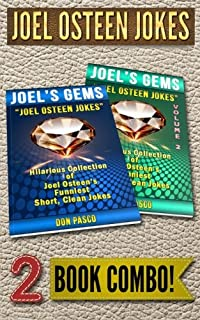 JOEL OSTEEN JOKES - 2 Book Combo: 2 Hilarious Collections of Joel Osteen Jokes
