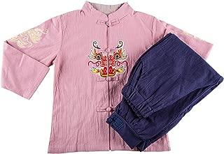 Hello Shero Boys Clothing Sets Short Sleeves Mandarin Collar Button Down Shirts Elastic Waistband Pants Cosplay Costumes