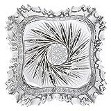 Cristal de Bohemia Estrella Cenicero, Cristal, 13x13x5 cm