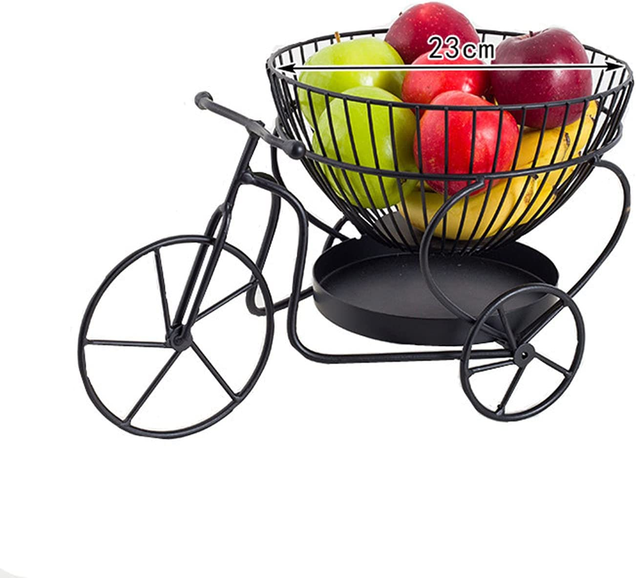 LRZTF Creative supreme Fruit Bowl Countertop C 5 ☆ popular Table Basket Metal