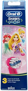 Oral B Stages Replacement Brush Disney Princesses x3