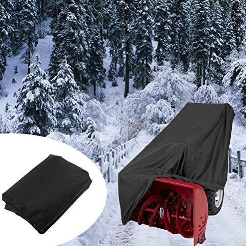 Sarplle Schneefräse Abdeckung Staubdicht Winddicht Schutzhülle 300D Polyesterfaser Abdeckplane mit Tragetasche für Schneefräsen