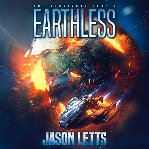 Earthless audiobook cover art