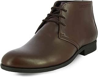 Alberto Torresi Men's Dark Brown Leather Boots-9 UK (43 EU) (60540)