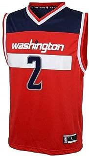 John Wall Washington Wizards NBA Kids 4-7 Red Road Player Jersey