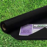 FLARMOR Pro Garden Landscape Fabric Heavy Duty - French Cloth Ground Cover One Roll 4x300 ft 3 oz