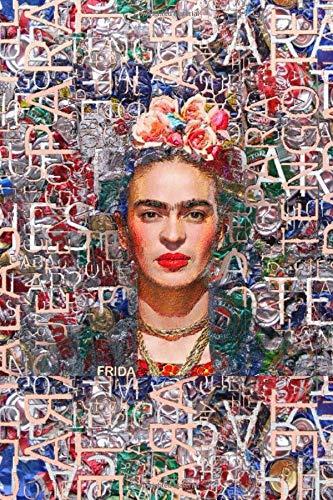 """Frida: Sketchbook: Journal Sketchbook: Frida Kahlo: Blank Sketch Book Journal (6"""" x 9"""" Notebook) 4"""