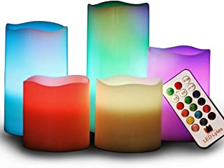colour candles online