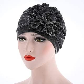 Muranba Women Flower Cancer Chemo Hat Beanie Turban Head Wrap Cap