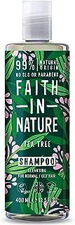 faith in nature shampoo tea tree