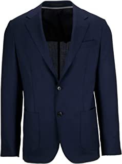 Z Zegna Luxury Fashion Mens 5547791DNMG08 Blue Blazer   Season Permanent