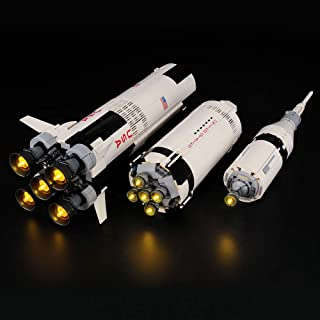 LIGHTAILING Light Set for (Ideas NASA Apollo Saturn V)...