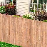 <span class='highlight'><span class='highlight'>Tidyard</span></span> Bamboo Fences Garden Privacy Border Wind/Sun Protection 2 pcs 100x400 cm