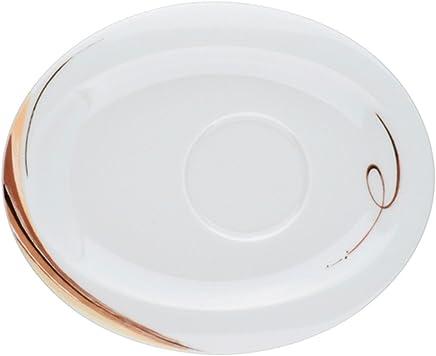 Preisvergleich für Seltmann Weiden 001.657780 Top Life - Aruba - Kombi-Untertasse - oval - 19x15,5 cm - Porzellan