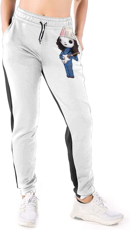 RDCLFJENQ Buckethead Pants for Women's Sport Pull On Drawstring