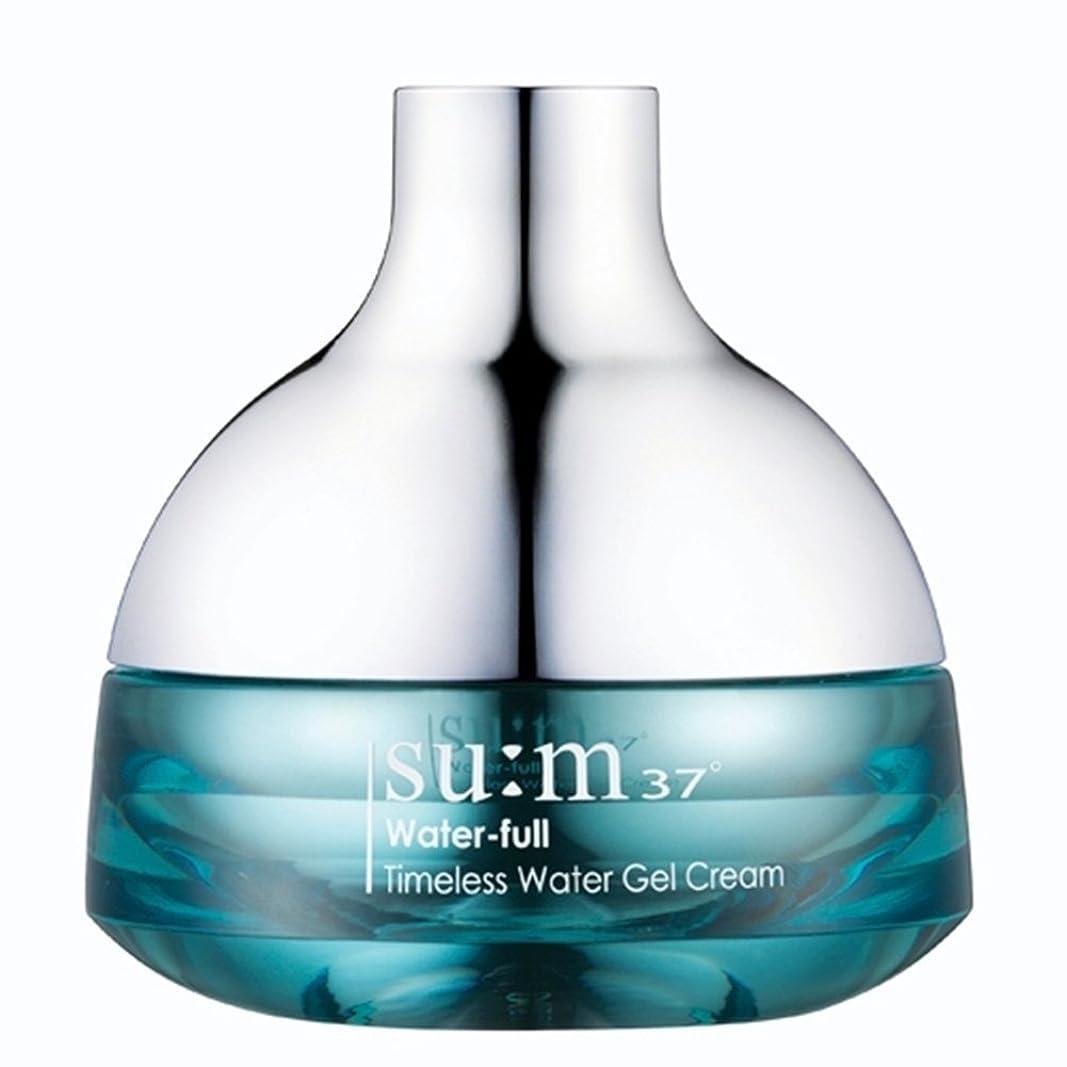 以来誇大妄想分子su:m37/スム37° スム37 ウォーターフルタイムレスウォータージェルクリーム50ml (sum 37oWater-full Timeless Water Gel Cream 50ml + Special Gift) スポット [海外直送品]