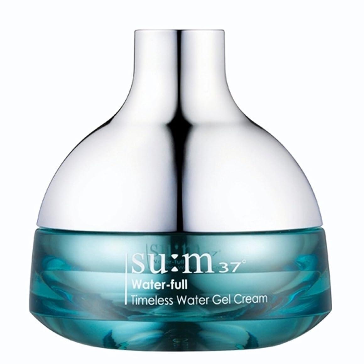 ウイルスヨーロッパオーバーコートsu:m37/スム37° スム37 ウォーターフルタイムレスウォータージェルクリーム50ml (sum 37oWater-full Timeless Water Gel Cream 50ml + Special Gift) スポット [海外直送品]