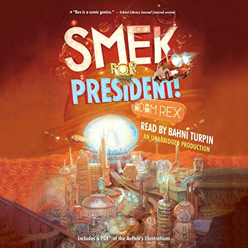 Smek for President! audiobook cover art