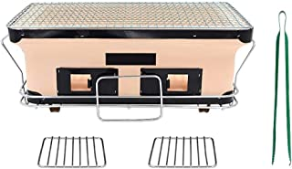 MEI XU Barbecue Grill BBQ Grill - Japanese BBQ Grill 3 People - 5 People Ceramics Smokeless Indoor Charcoal Japanese BBQ G...